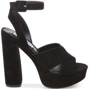 Steve Madden Women's Jodi Platform Sandals BK 7.5M